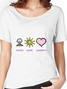 Faith Hope and Charity Women's Relaxed Fit T-Shirt