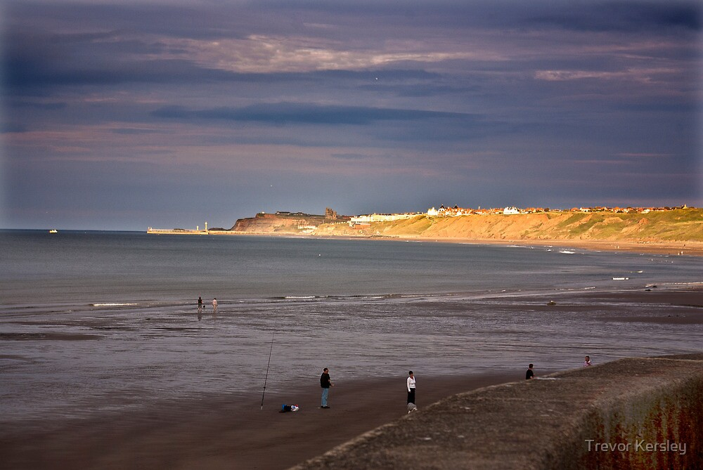 Sandsend to Whitby by Trevor Kersley
