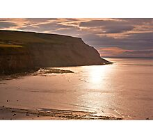 Sunset at Boulby Photographic Print