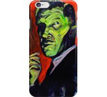 Vincent Price taking a smoke break iPhone Case/Skin