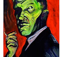 Vincent Price taking a smoke break by chrisbonno