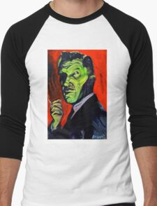 Vincent Price taking a smoke break Men's Baseball ¾ T-Shirt