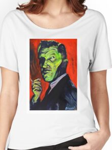 Vincent Price taking a smoke break Women's Relaxed Fit T-Shirt