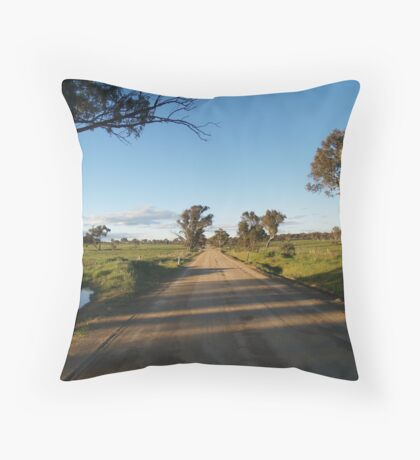 And The Road Goes On ........  NSW - Australia Throw Pillow
