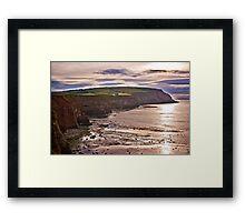 View Towards Boulby Framed Print