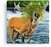 Feed me to the forest. Canvas Print
