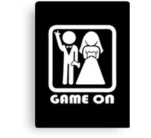 GAME ON 2 Canvas Print