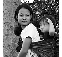 Life Style in Assam Photographic Print