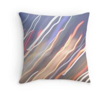 the lights are fading Throw Pillow