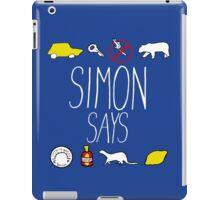 Simon Says (White Lettering) iPad Case/Skin