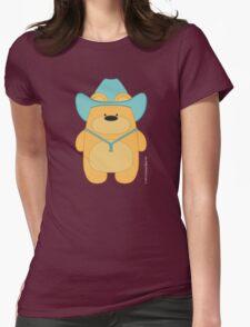 CowBear - Blond Womens Fitted T-Shirt