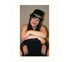 Hat And Shoulders Art Print