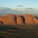 Kata Tjuta & Uluru - From the Air by Richard Cassar