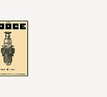 Lodge Spark Plugs by OLD-TIMER