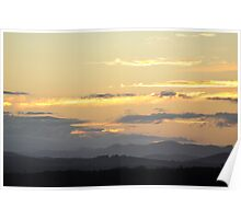 Sunset from Forster NSW Australia Poster