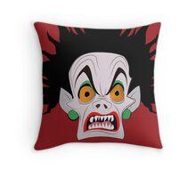 de-vil- true monster form Throw Pillow