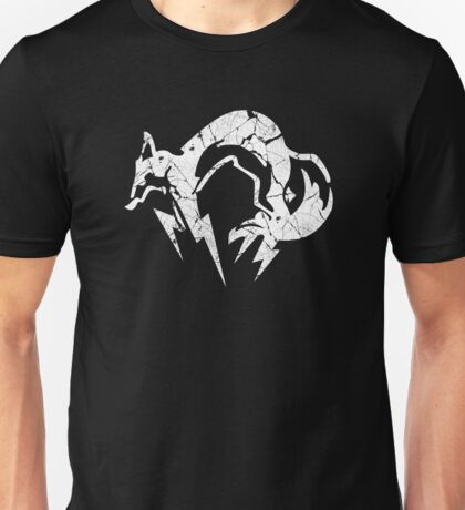 Foxhound V2 (White) Unisex T-Shirt