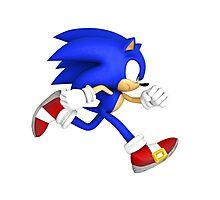 Sonic the hedgehog! Photographic Print
