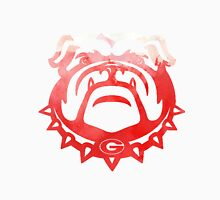 UGA Bulldog - Watercolor Unisex T-Shirt