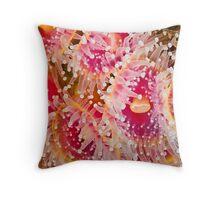 Jewel Anemonies Throw Pillow