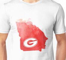 UGA - Watercolor State Unisex T-Shirt
