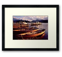 Keswick, Derwentwater - The Lake District Framed Print