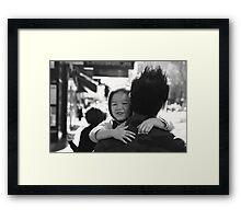 Daddy. Framed Print
