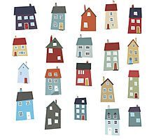 Little Houses Photographic Print