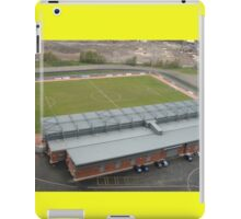 Dumbarton Football Stadium iPad Case/Skin
