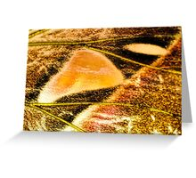 Seeping Into You Greeting Card