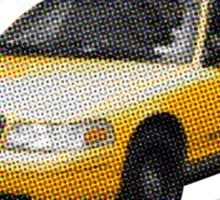 Taxi Cab Groove Sticker