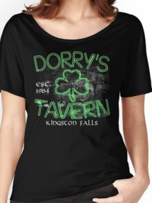 Dorry's Tavern Est. 1984  Women's Relaxed Fit T-Shirt