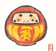 Daruma [Special Lucky Toy Box] by Indigo East