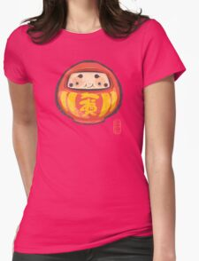 Daruma [Special Lucky Toy Box] Womens Fitted T-Shirt