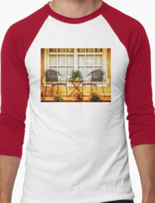 Front Porch for Two Men's Baseball ¾ T-Shirt