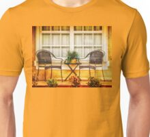 Front Porch for Two Unisex T-Shirt