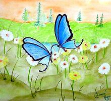 Butterfly Dance by Edmond  Hogge