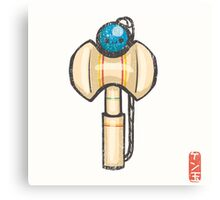 Kendama [Special Lucky Toy Box] Canvas Print