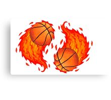 Great Balls of Fire! Canvas Print