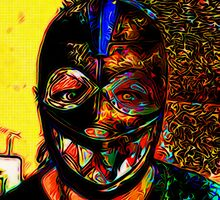 Beware: The Crazy Eyes of the Luchadora by David Rozansky