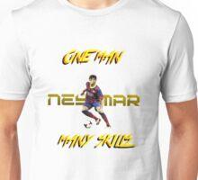 Neymar : One Man, Many Skills Unisex T-Shirt