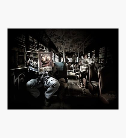 The Evening Commute Photographic Print