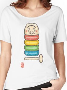DarumaOtoshi [Special Lucky Toy Box] Women's Relaxed Fit T-Shirt