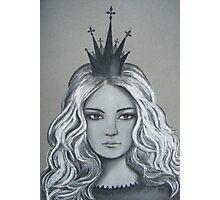 Queen of Diamonds Photographic Print