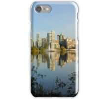 Lost Lagoon Lake in Spring iPhone Case/Skin