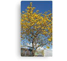 Epcot Tree Canvas Print
