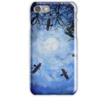 Halloween Witch Hunt iPhone Case/Skin