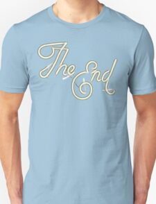 THE END - MOVIE CREDITS Unisex T-Shirt