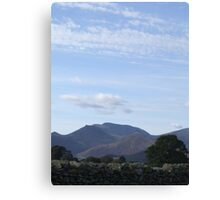 Spring morning in the Lake District Canvas Print