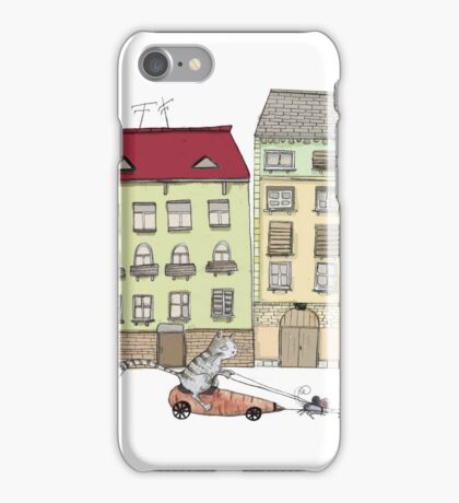 Budapest and the wandering cat iPhone Case/Skin